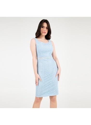 Trend Elbise Mavi